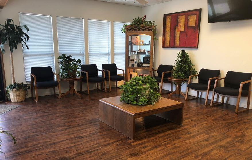 San Marcos Dermatology Waiting Room